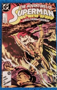 Adventures of Superman #432 (DC, 1987) VF 8.0 Wolfman, Jerry Ordway