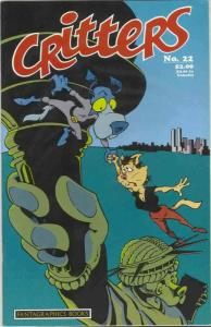 Critters #22A VF; Fantagraphics | save on shipping - details inside