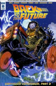 Back To The Future (IDW) #8 VF/NM; IDW   save on shipping - details inside