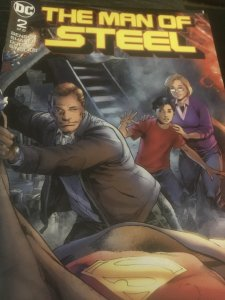 DC  The Man of Steel #2 Mint
