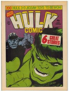 HULK (BRITISH WEEKLY) 6 VF-NM HULK BY PAUL NEARY