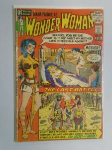 Wonder Woman #198 2.5 GD+ Tape on inside front cover (1972 1st Series)