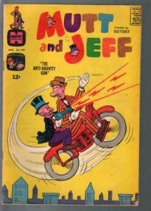 Mutt and Jeff #140 1964-Harvey-motorcycle cover & story-VG