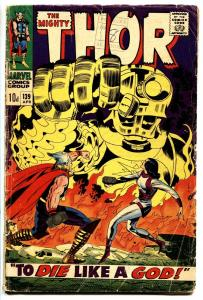 THOR #139 comic book UK pence variant-Marvel 1967