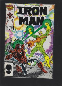 Iron Man #211 (1986)