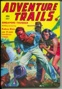 Adventure Trails 2008-reprints 7/1938 Adventure Trails issue-pulp thrills-VF