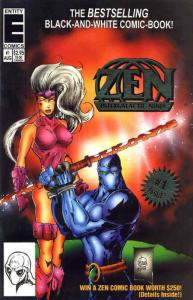 Zen Intergalactic Ninja (6th Series) #1 FN; Entity | save on shipping - details