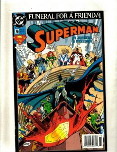 Lot of 8 Superman DC Comics Comic Books #76 79 80 81 82 83 84 88 HY3