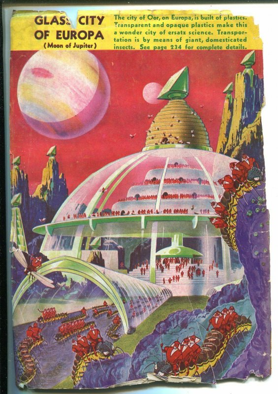 Amazing Stories 1/1942-Ziff-Davis-sci-fi pulp thrills-bound woman-Giant-G/VG