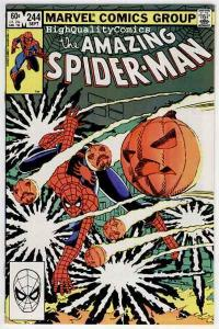 SPIDER-MAN #244, VF/NM HobGoblin, John Romita, Amazing, 1963, more in store