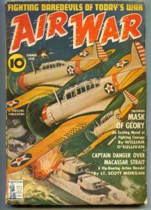 Air War Pulp summer 1942- Captain Danger Over Macassar