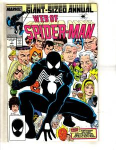 Lot Of 8 Web Of Spider-Man Marvel Comic Books ANNUALS # 3 4 5 6 7 8 9 10 DB2