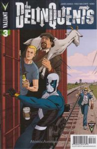 Delinquents, The #3 VF/NM; Valiant | save on shipping - details inside