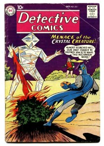 DETECTIVE #272-comic book 1959-CRYSTAL CREATURE-DC SILVER-AGE