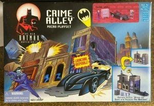 BATMAN CRIME ALLEY MICRO PLASYSET 1998 EDITION - mint in box!