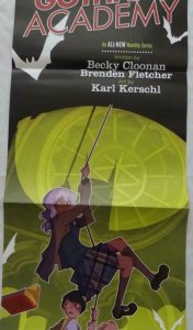 GOTHAM ACADEMY Promo Poster, 12 x 34, 2014, DC,  Unused more in our store 340