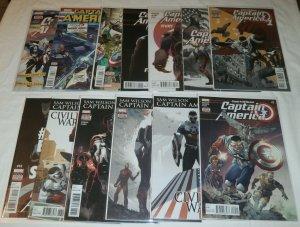 Captain America  : Sam Wilson   #1-3,5-14 (set of 13) Spencer/Acuna