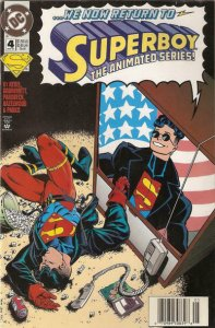 Superboy (3rd Series) #4 (Newsstand) VF; DC | save on shipping - details inside