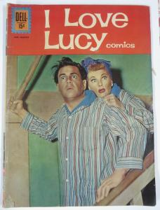 I LOVE LUCY COMICS #34 (Dell) Jan-March, 1962 VERY GOOD