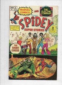 SPIDEY SUPER STORIES #8, FN, Mole Man, Spider-man, 1974 1975, more in store