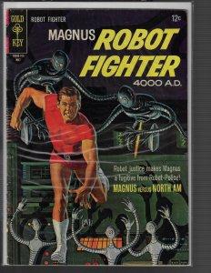 Magnus Robot Fighter #18 (Gold Key, 1968) KEY