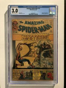 Amazing Spider-Man #13 CGC 3.0 - 1st Appearance of Mysterio