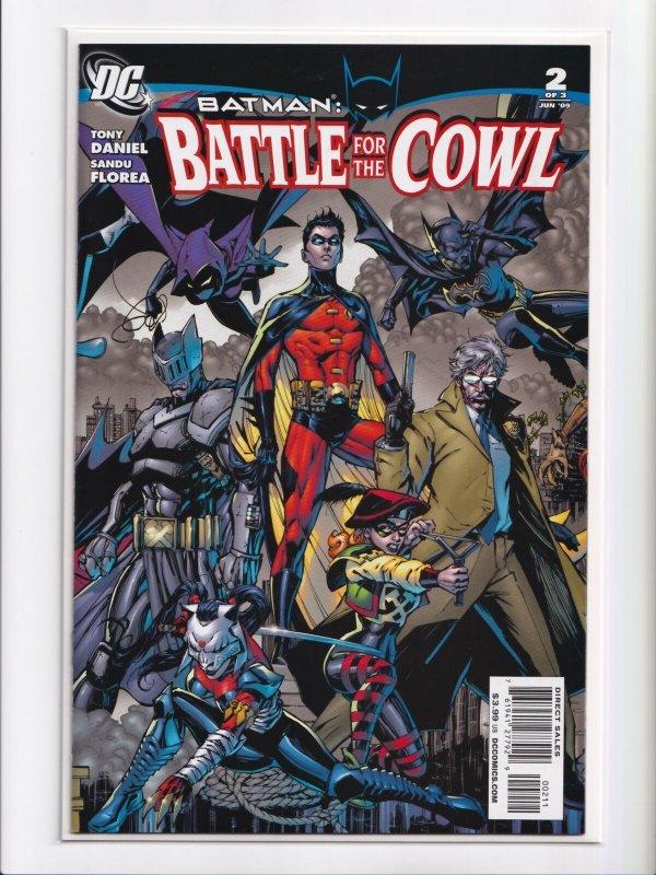 Batman Battle For the Cowl 1 - 3 Complete Set + Azrael 1 - 3 DC 2009 Series NM+