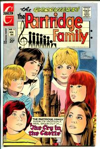 Partridge Family #13 1972-Charlton-David Cassidy-Shirley Jones-Susan Dey-FN