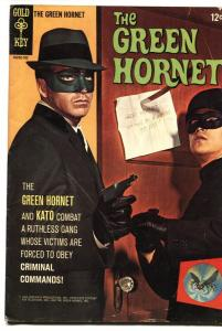 The Green Hornet #1 1966- Bruce Lee photo cover- Gold Key  VG