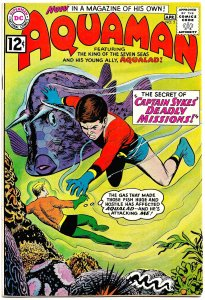 AQUAMAN Vol 1 #2 (March1962) 8.0 VF King of the Seas  . and Aqualad! Nick Cardy!