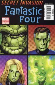 Secret Invasion: Fantastic Four #1A VF/NM; Marvel   save on shipping - details i