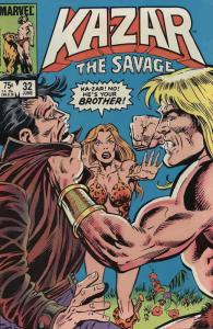 Ka-Zar the Savage #32 FN; Marvel | save on shipping - details inside