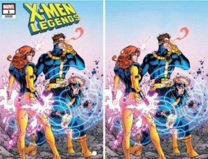 X-MEN LEGENDS #1 DAVID YARDIN EXCLUSIVE SET  WOLVERINE CRAIN