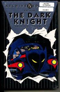 Dark Knight Archives 5 hardcover- sealed