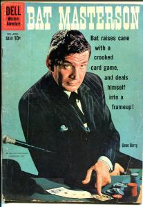 Bat Masterson #31 1971-DC-Gene Barry TV photo cover-card game-VG-