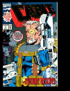 12 Cable Marvel Comics # 1 2 2 3 4 5 6 7 8 9 10 11 Wolverine X-Men Cyclops GK6
