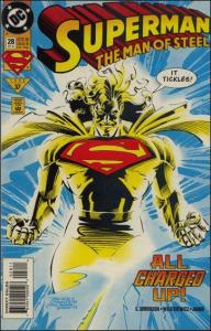 DC SUPERMAN: THE MAN OF STEEL #28 VF/NM