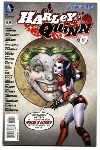 HARLEY QUINN #0 2014--DC-BATMAN-NICE COVER NM