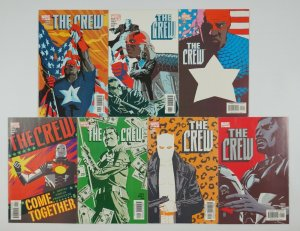 the Crew #1-7 VF/NM complete series CHRISTOPHER J. PRIEST afrocentric hero team