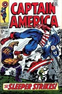 Captain America #102 (ungraded) stock photo / SCM