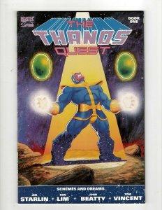 The Thanos Quest Complete Marvel Comics LTD Series # 1 2 NM 1st Prints OF2