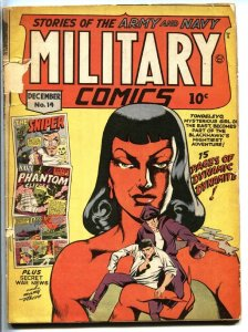 MILITARY #14 1942-QUALITY-FDR appears-Private Dogtog-Satan