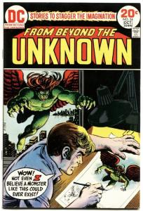 FROM BEYOND THE UNKNOWN #24-HIGH GRADE-DC SCI-FI