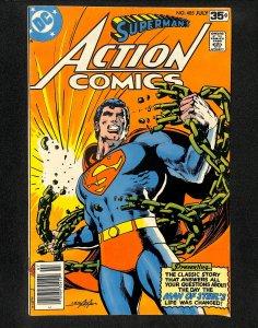 Action Comics #485 Neal Adams Cover!
