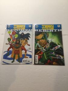 Teen Titans Rebirth 1 One Shot And Variant