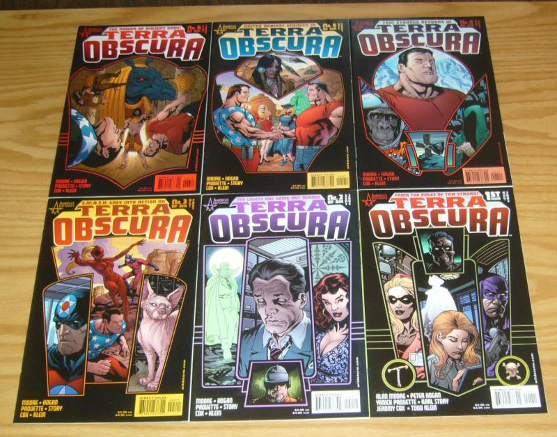 Terra Obscura #1-6 VF/NM complete series - alan moore - tom strong spinoff set