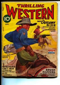 Thrilling Western-Pulps-9/1945-Barry Scobee-Bradford Scott
