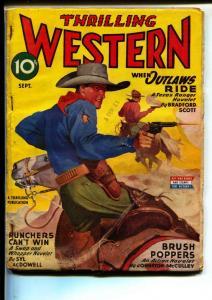 Thrilling Western-Pulps-9/1945-Barry Scobee-Bradford Scott