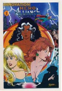 Hero Alliance Quarterly (1991) #1 VF