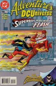 Adventures in the DC Universe #14, NM + (Stock photo)